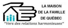 La maison de la famille de Québec Logo